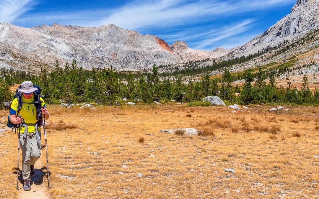 High Sierra Trail Day 3 (Part 2) – Kaweah Gap to Moraine Lake