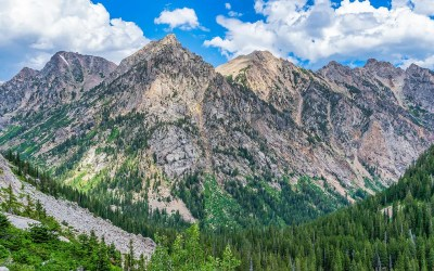 Teton Crest Trail, Day 3 – Alaska Basin to the North Fork of Cascade Canyon