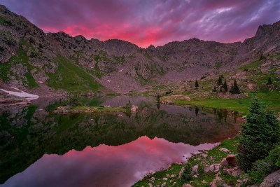 Booth Lake, Eagles Nest Wilderness, Colorado