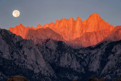 Mt Whitney, California