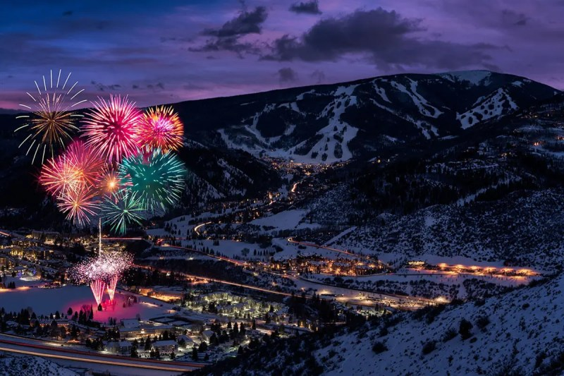 New Years Eve at Beaver Creek Colorado Fine Prints Wall Art
