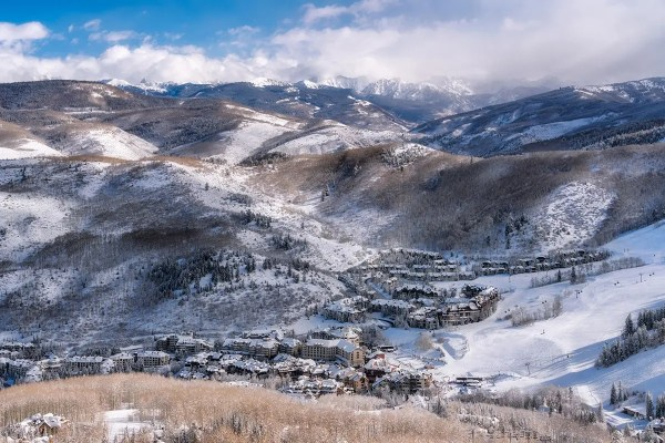 Winter Day at Beaver Creek Colorado Fine Prints Wall Art