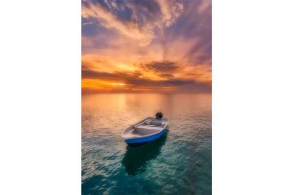 Carribean Sunset Nevis Fine Prints Wall Art