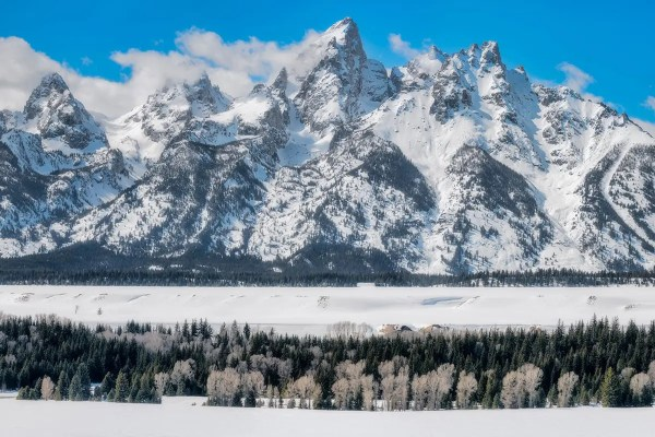 Winter in Grand Teton National Park Wyoming Fine Prints Wall Art