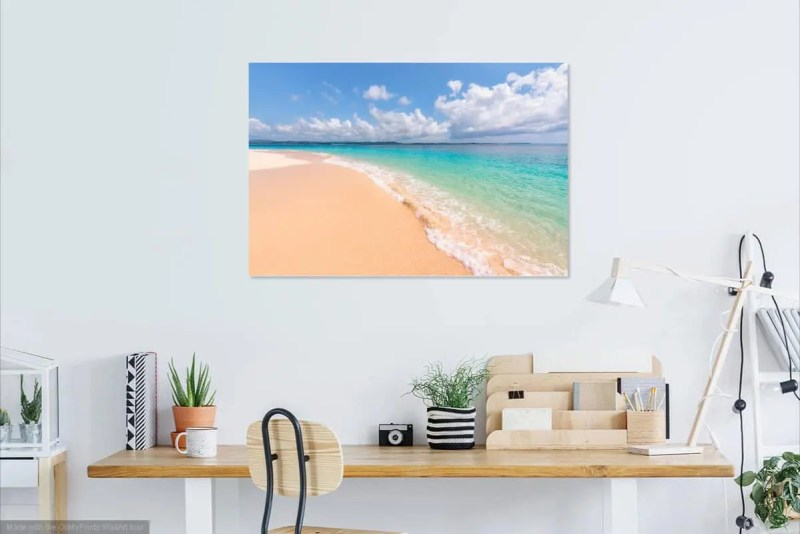 Untouched Beach Siargao Philippines Fine Prints Wall Art