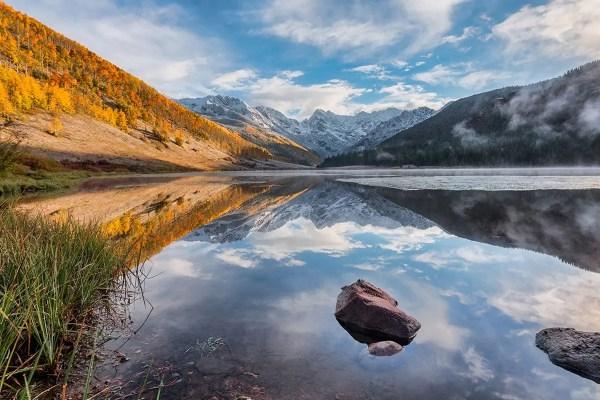 Fall at Piney Lake Vail Colorado Fine Prints Wall Art