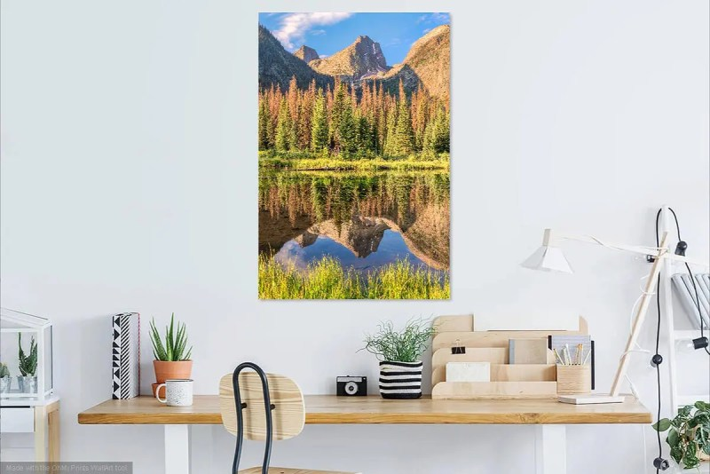 Arrow Peak Wemuniche Wilderness Shop Fine Prints Wall Art