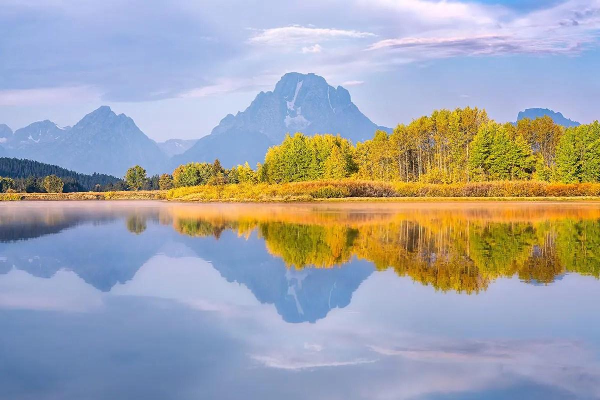 Grand Teton National Park Wyoming Fall