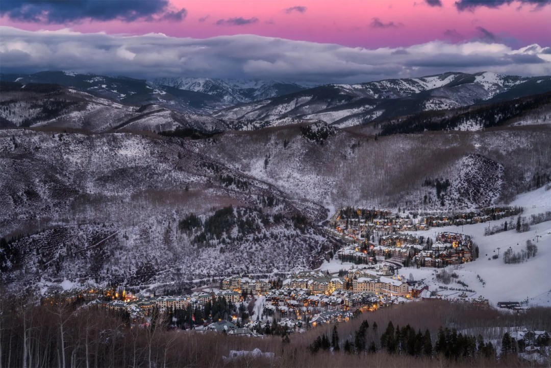 Beaver Creek Twilight Colorado