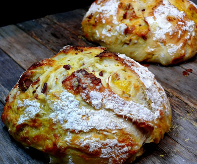 Easy Artisan Bacon Cheese Bread Baking And Chocolate Cookbooks