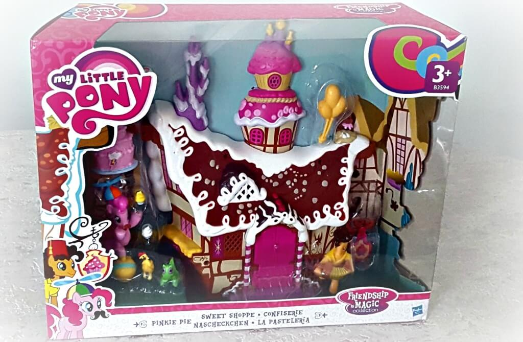my little pony sugarcube corner review picture of box