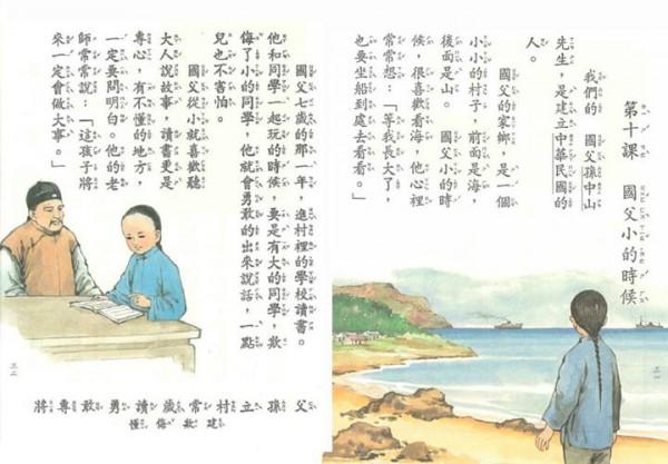 你讀過這個版本的國小國語課本嗎?(注意第21課)