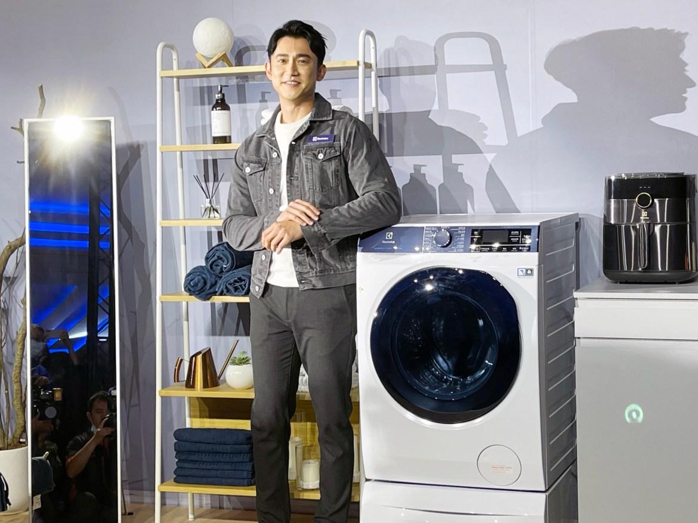 伊萊克斯同推洗脫烘蒸洗衣機  四大黑科技隔空嗆LG洗脫烘