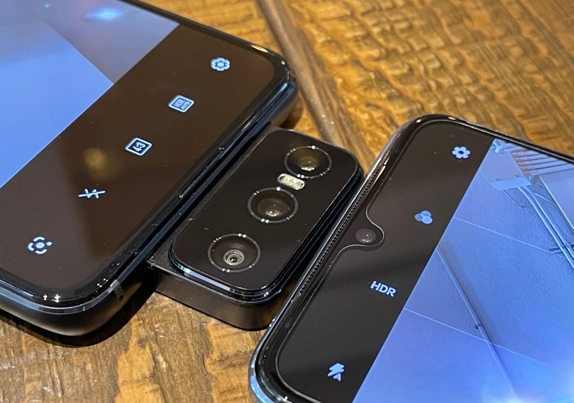 華碩翻轉旗艦ZenFone 8 Flip與Vivo V21 5G自拍旗艦拍攝比一比