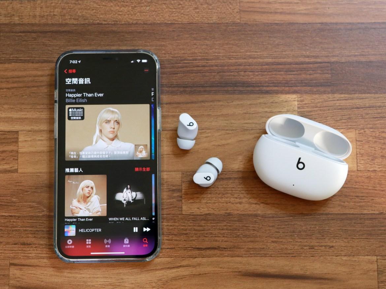 支援空間音訊、主動降噪的Beats Studio Buds 動手玩