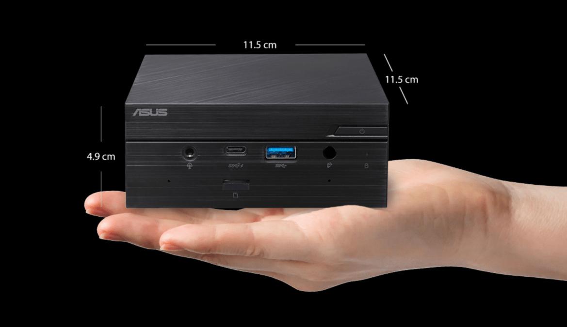 華碩最新迷你桌機PB62與PN41上市!巴掌大小可外接3台4K螢幕