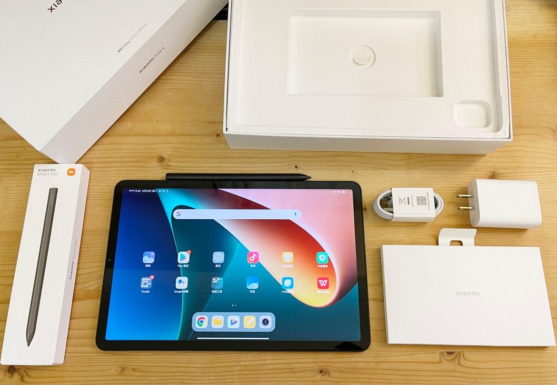 小米平板國際版Xiaomi Pad 5開箱:免萬元的手寫影音娛樂全方位平板
