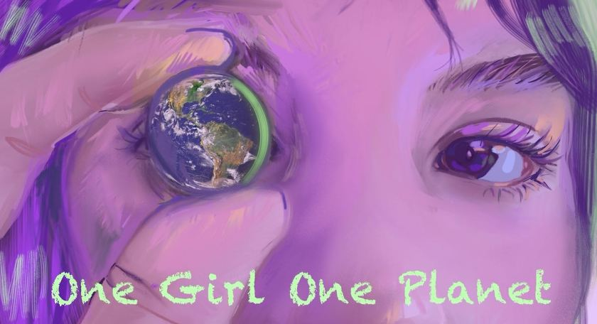One Girl One Planet Banner 1