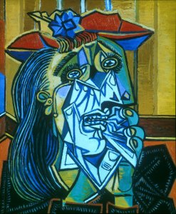 weeping woman picasso-1937