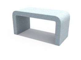 Line Concrete Bench