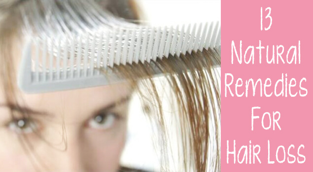 13 Natural Remedies To Reduce Hair Loss · One Good Thing