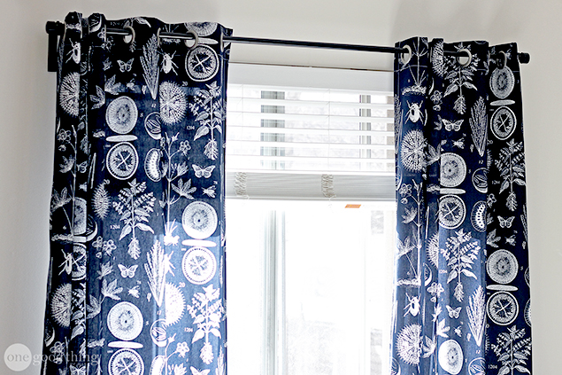 Make Your Own Grommet Curtains In An Afternoon One Good Thing By