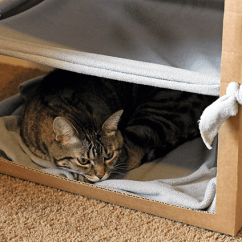 Cat Hammock Under Chair Heavy Duty Casters Me My Hanging Pets