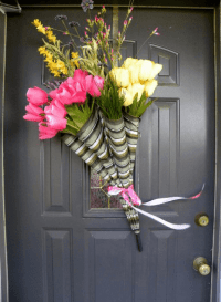 "DIY 5-Minute Umbrella ""Wreath""  One Good Thing by Jillee"