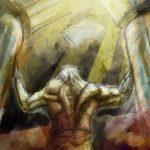 Samson colour illustration