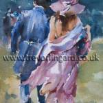 Trevor Lingard demonstrates how to paint watercolour figures