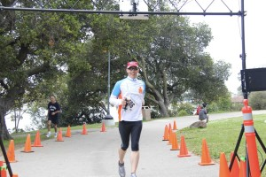 Finishing the Rhodes Race 5K