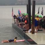 NYC Triathlon Swim Start