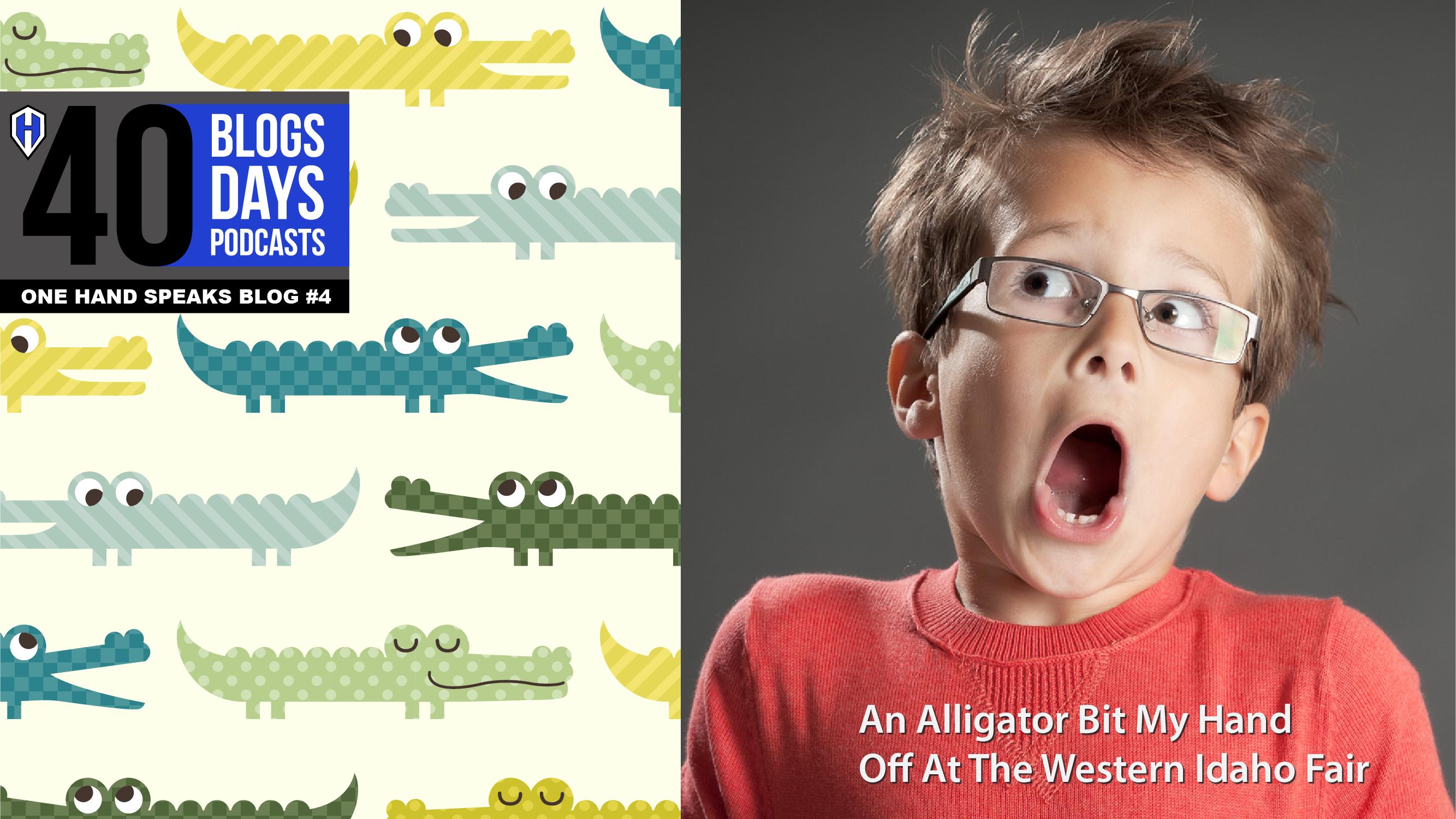 A social media advertising for AlejAndro's One Hand Speaks Storytelling podcast.