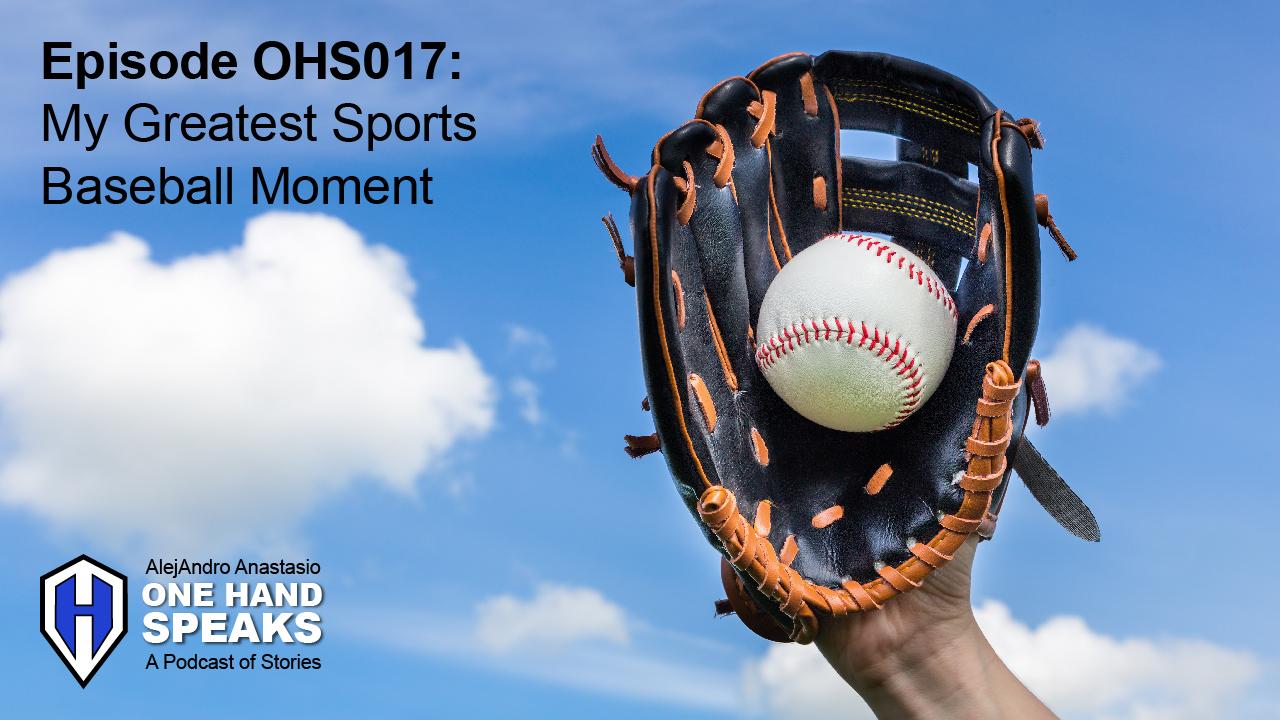 Baseball, Little League, Sports, Greatest Moments, Podcast, Storytelling, Jim Abbott