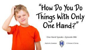 Children, Kids, Questions, One Hand, Podcast, Storytelling