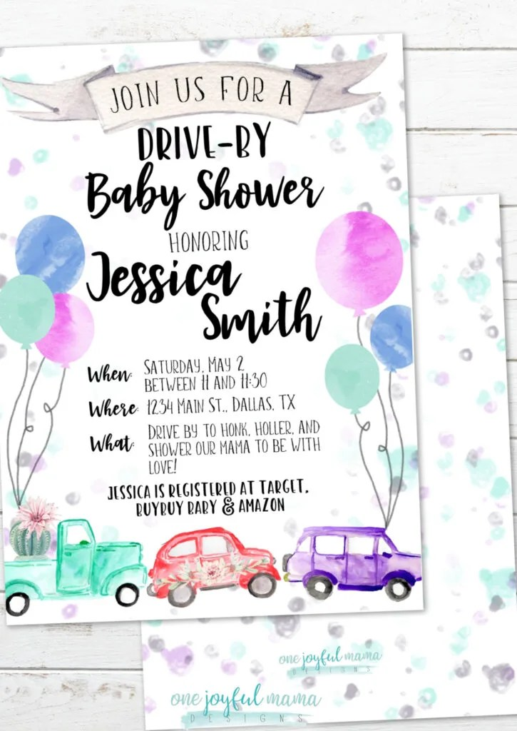 Places To Have Baby Shower Near Me : places, shower, Drive-By, Shower, Hangry