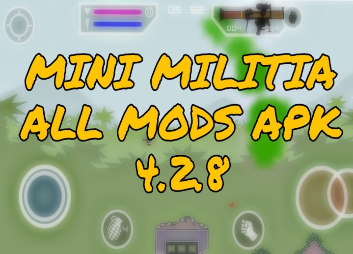 mini militia latest pro pack hack apk