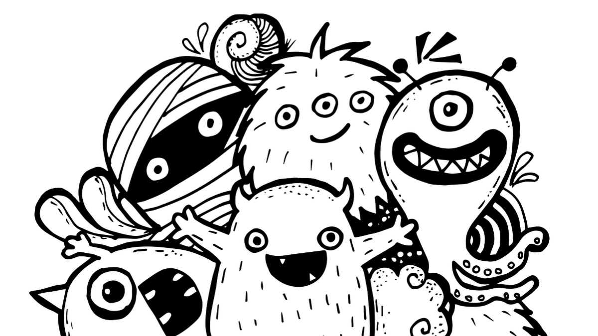 Tiny Demons/Drawing Monsters