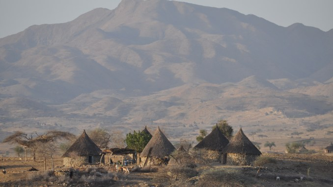Remote village in Eritrea