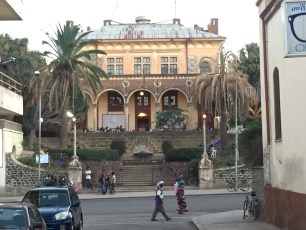 The Opera house in Asmara City.