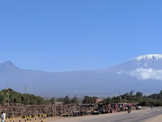 View of Kilimanjaro from Oloitokitok
