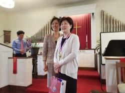 멋진 김 혜순 권사님 2등 축하드려요.