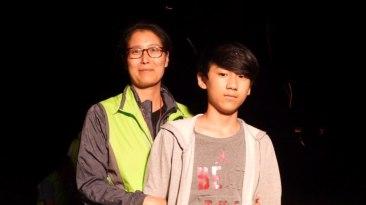 김 지영집사와 아들