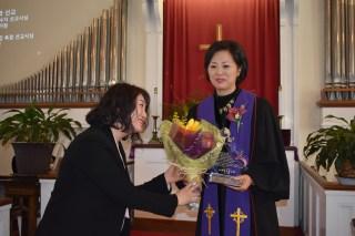 사랑해요 목사님.. 김 미선 회장