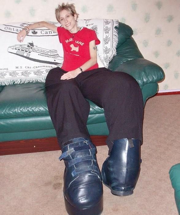 Самые большие ноги в мире фото