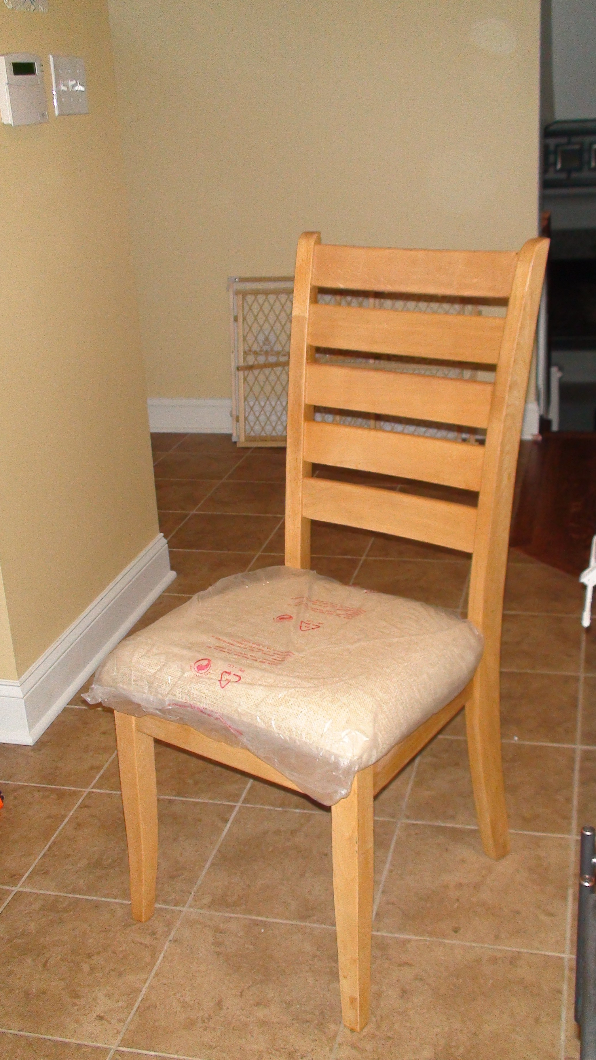 Chairs Kitchen Reupholstered Kitchen Chairs One Home Made