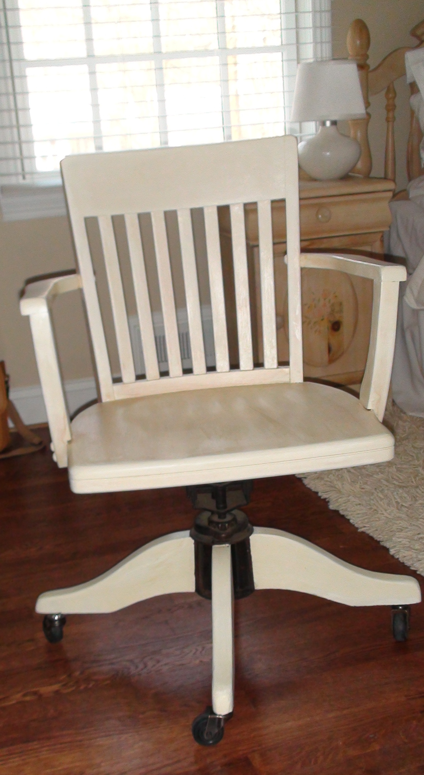 Home Office Desk Chairs Home Office Refinishing An Antique Desk Chair One Home Made