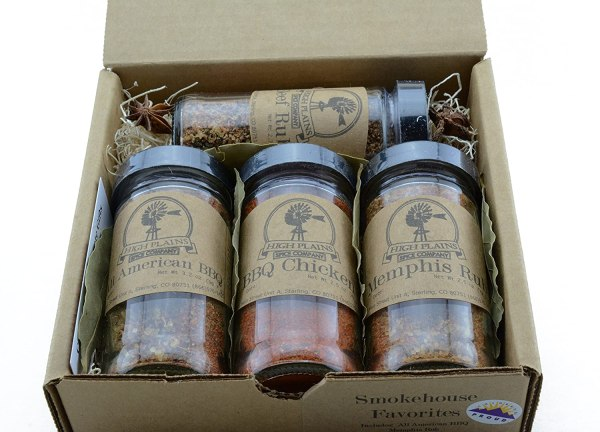 Smokehouse Favorites - BBQ Rub and Spices Gift Set