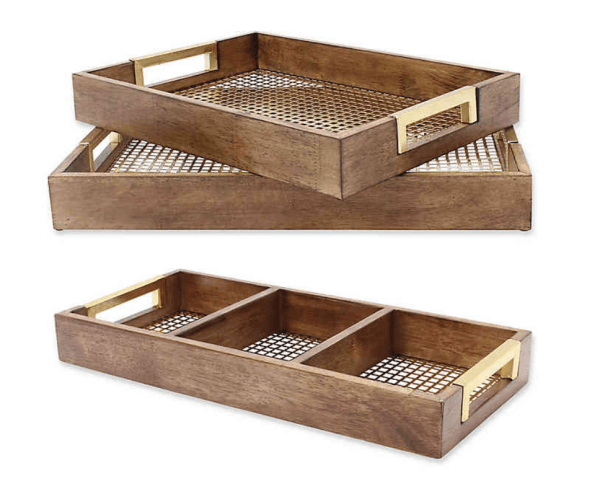 Kate and Laurel Hanneli Tray Collection