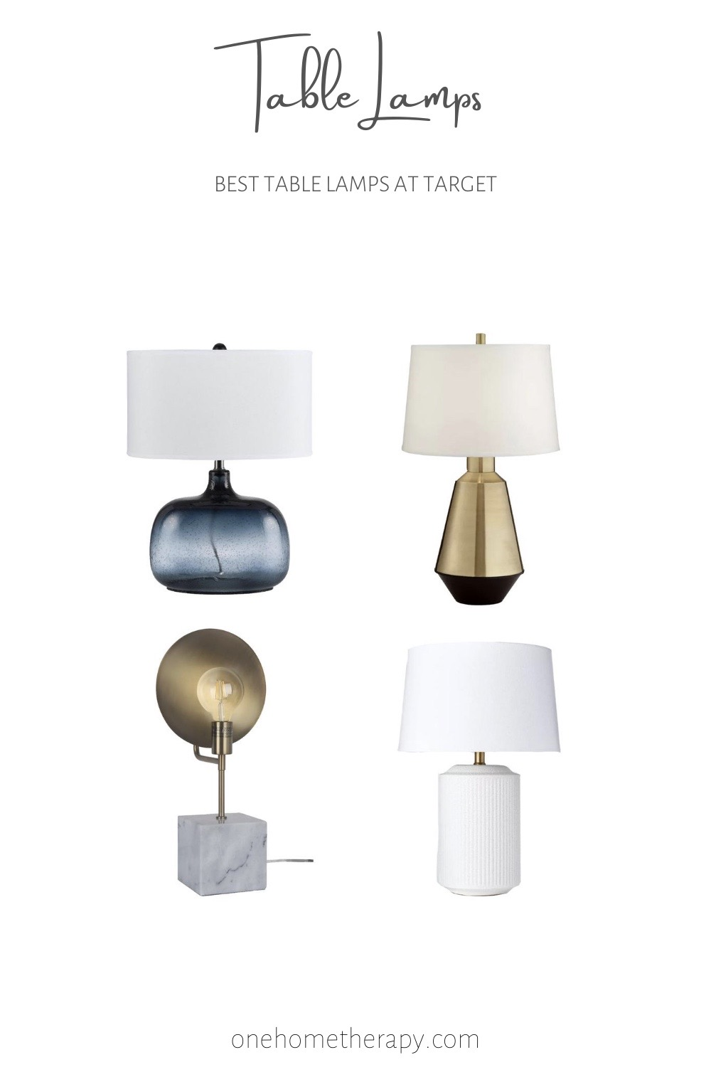Table Lamps - Target\'s Best Finds